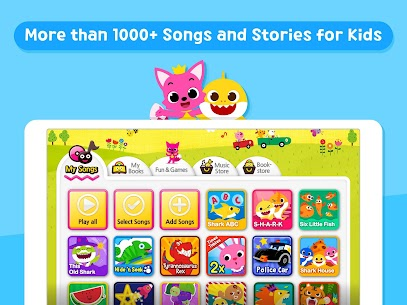 Baby Shark Best Kids Songs & Stories App Download For Android and iPhone 2