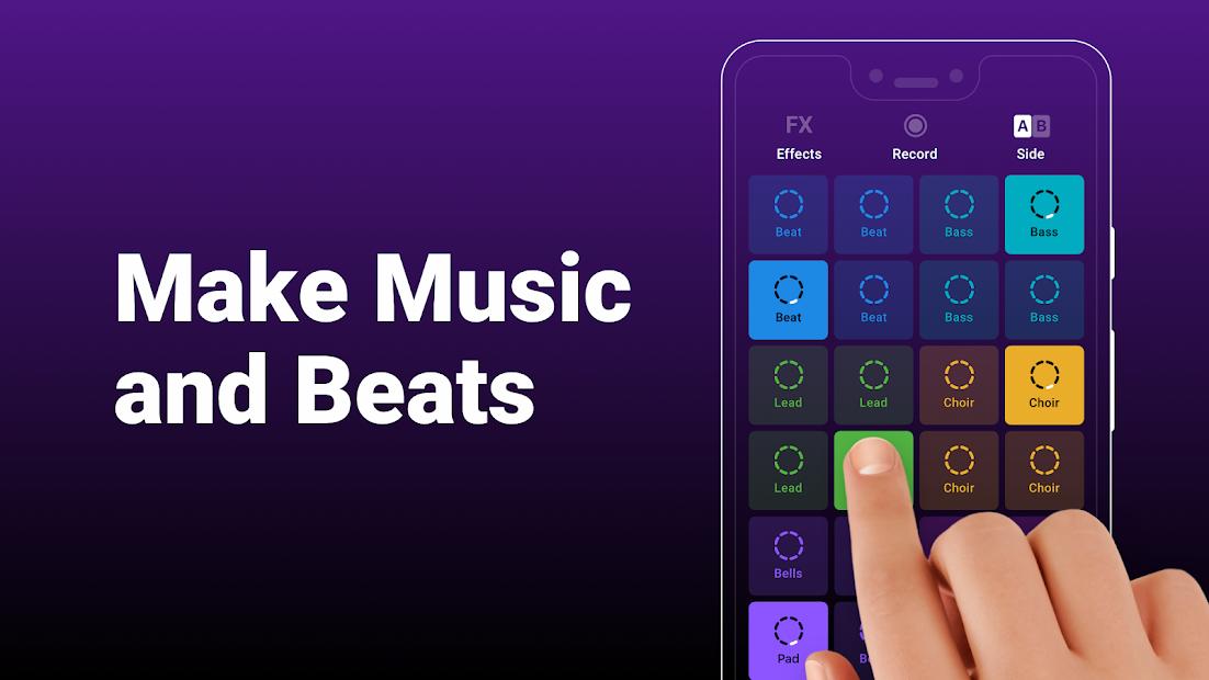 Groovepad - Music & Beat Maker Android App Screenshot