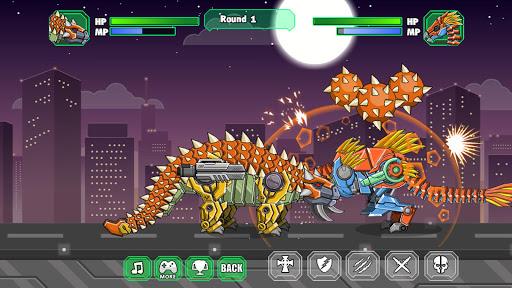 Robot Ankylosaurus Toy War