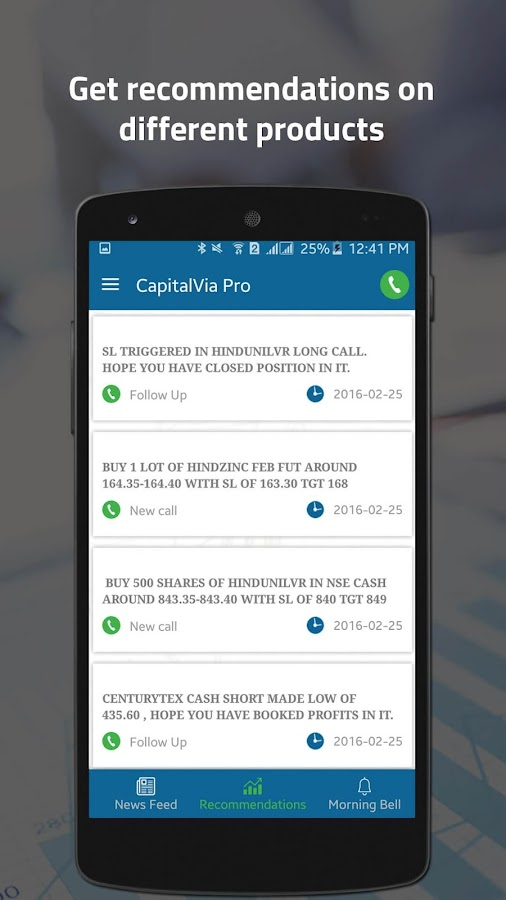 CapitalVia- Stock Trading Tips- screenshot