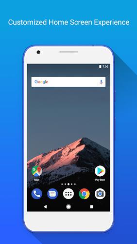 Apex Launcher Android App Screenshot