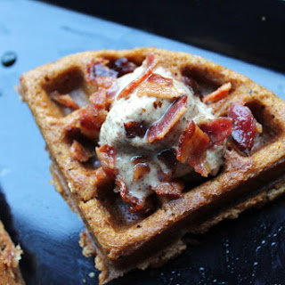 Butternut Squash Waffles With Bacon Bits – Paleo Friendly, Gluten Free, Dairy Free