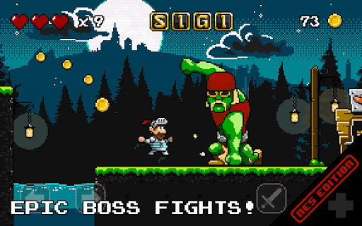 Sigi (NES Retro Platformer)