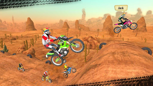 Motocross Racing 2.6 APK MOD screenshots 2