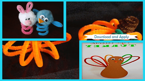 Easy Pipe Cleaners Craft Ideas Screenshot Thumbnail