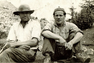 Photo: Rok 1947.Od lewej Bienias Józef Pociorek oraz Stanislaw Tylka Saguła.