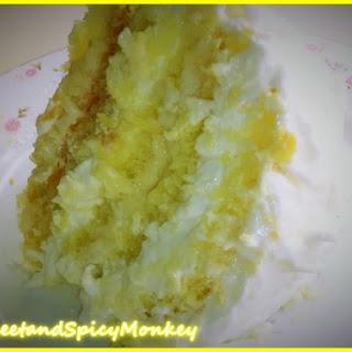 Lemon Coconut Refrigerator Cake