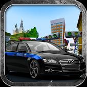 Police Chasing  Car Crime Game