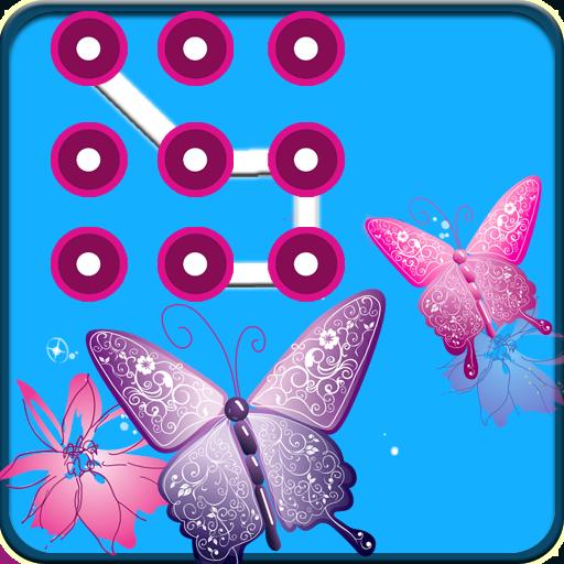 工具のきれいな鳥パターンのロック LOGO-記事Game