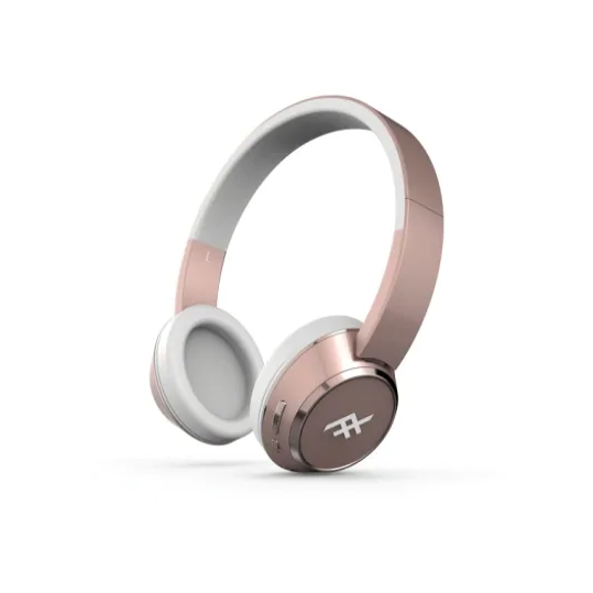 IFROGZ CODA WIRELESS HEADPHONES WITH MIC ROSE GOLD