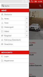 auto motor und sport- screenshot thumbnail