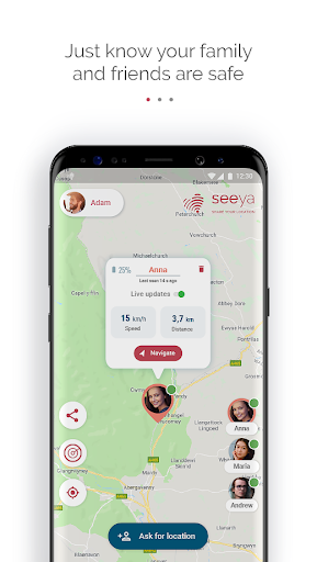 Seeya - share location! 2.5.0 screenshots 3