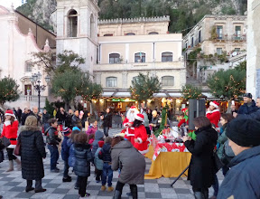 Photo: Babbo Natale disco for the tinies