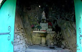 Photo: Interior de la ermita de Las Nieves.