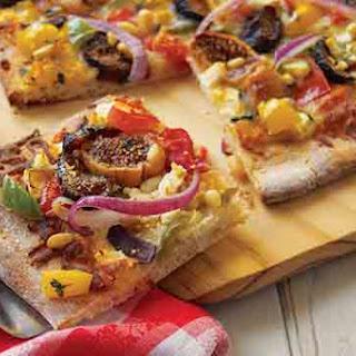 Valley Fig Growers Mediterranean Fig & Feta Pizza.