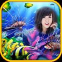 aquarium underwater frames icon