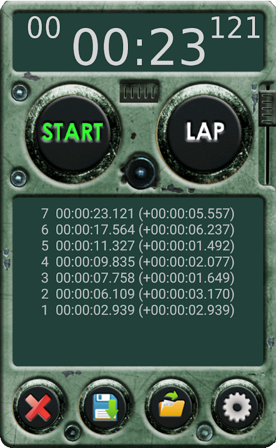Stopwatch Pro- screenshot