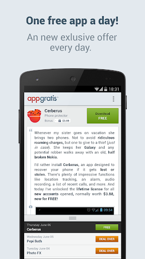 AppGratis - Cool apps for free for PC