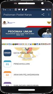 Pedoman Padat Karya Tunai di Desa Tahun 2018 - náhled
