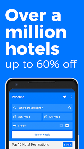 priceline Hotel Negotiator  screenshot 1