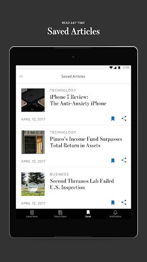 The Wall Street Journal: Business & Market News  screenshots 8