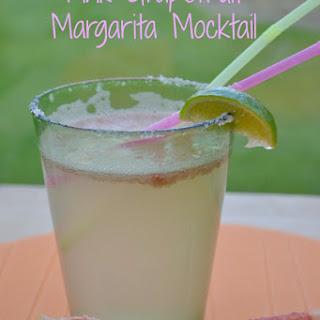 Pink Grapefruit Margarita Mocktail Recipe