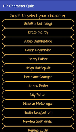 Harry Potter Character Quiz  screenshots EasyGameCheats.pro 2