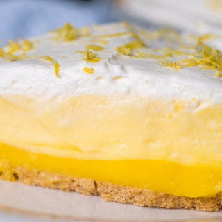 No-Bake Triple Layer Lemon Pie Recipe