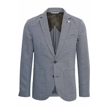 Matinique George casual linen blazer dust blue