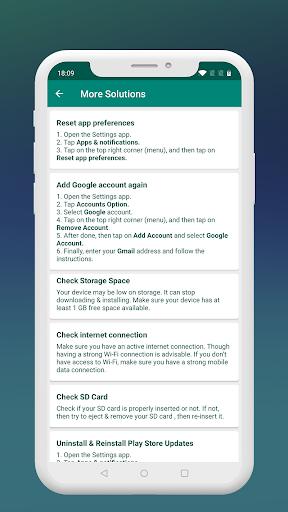Fix Play Services 2020 (Update) 1.4 screenshots 4