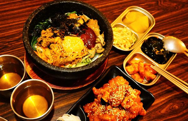 瑪西達韓式料理 - 安平區家庭式超好吃韓式料理,小菜通通吃到飽!