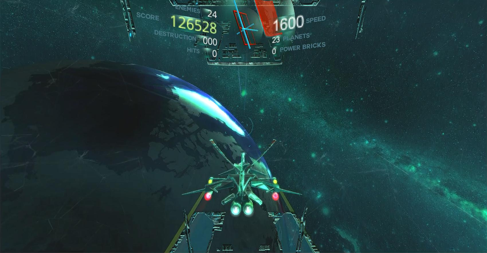 Space X Hunter VR- screenshot