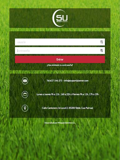 Su Sport Planner screenshot 3