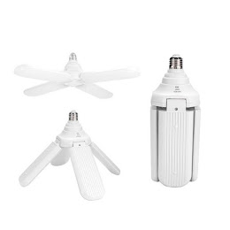 Lampa LED cu 4 brate mobile ajustabile, Fan Blade, E27, 3000K, 60W
