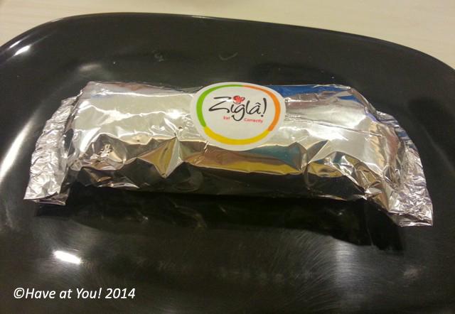 Zigla packaging for food