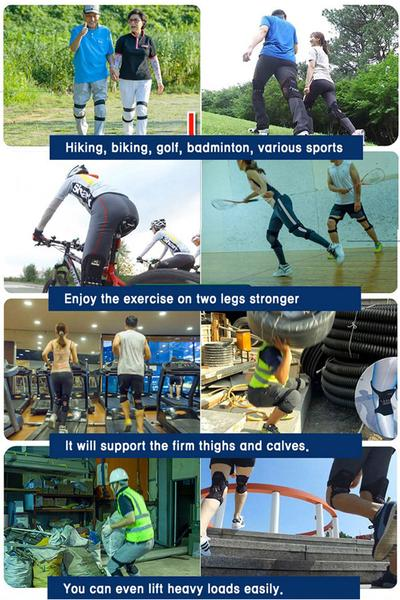 knee pads workout