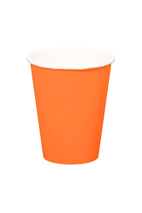 Mugg, orange 8st