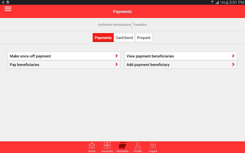 App from Absa- screenshot