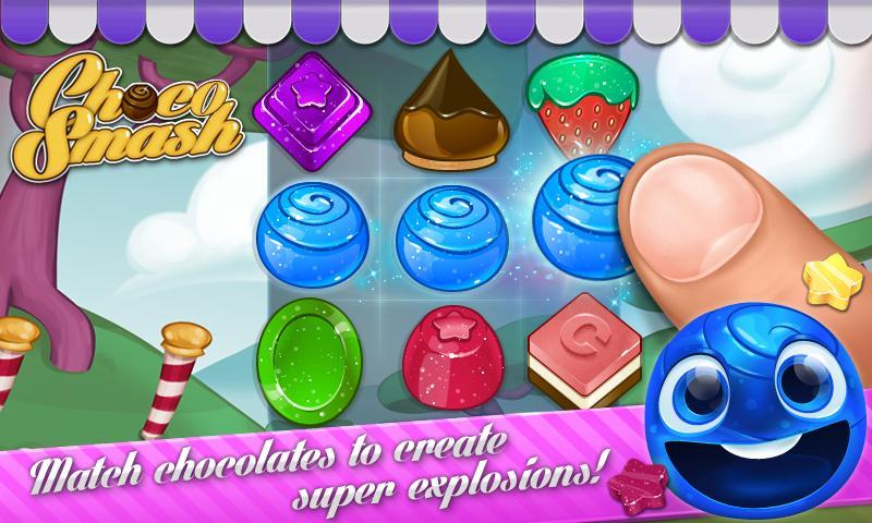 Choco Smash (Unlimited Lives)- screenshot