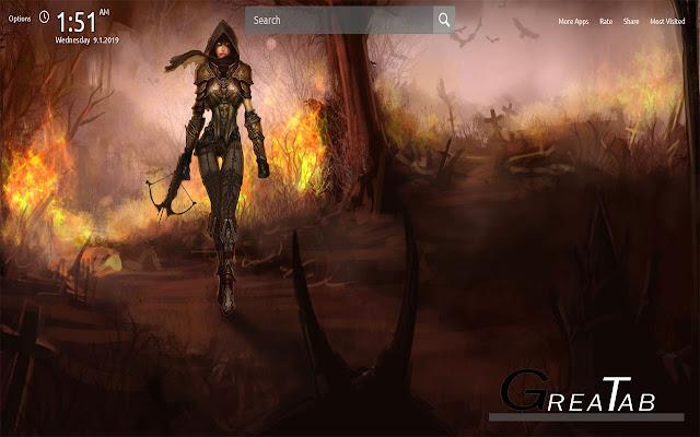 Diablo 3 Wallpapers Theme Greatab