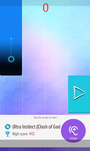 Piano Tap - Dragon Ball Super 4 screenshots 3