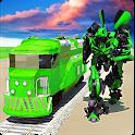 Euro Train Transformation Robot: Train Simulator icon