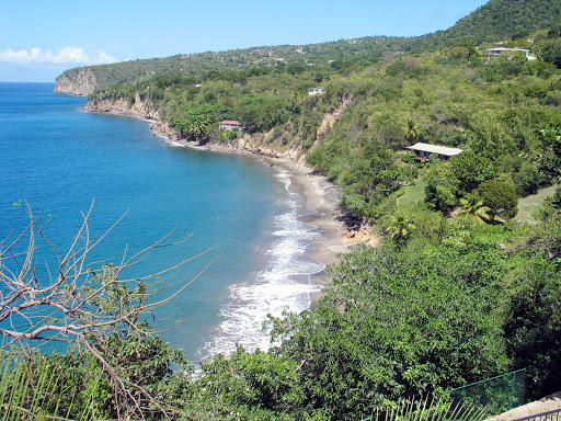Montserrat-woodlands-bay - Woodlands Bay on the Caribbean island of Montserrat.