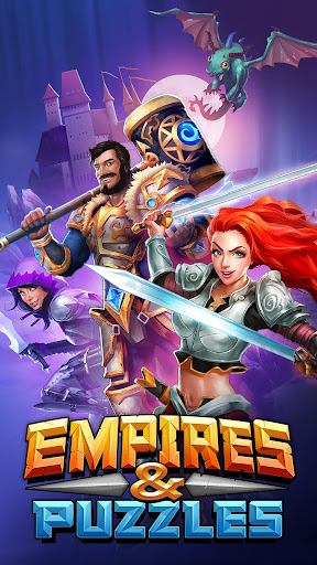 Empires & Puzzles: RPG Quest game (apk) free download for Android/PC/Windows screenshot