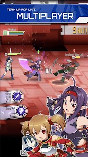 SWORD ART ONLINE:Memory Defrag Screenshot