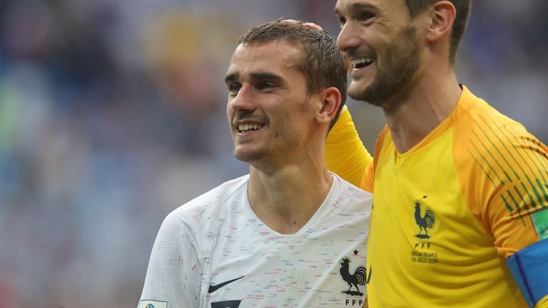 C:\Users\Carla\Desktop\Copa do Mundo 2018 - RUSSIA\França\França x Uruguai\Griezmann e Lloris  Foto Getty Images.jpg