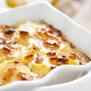 Potatoes Alla Panna.