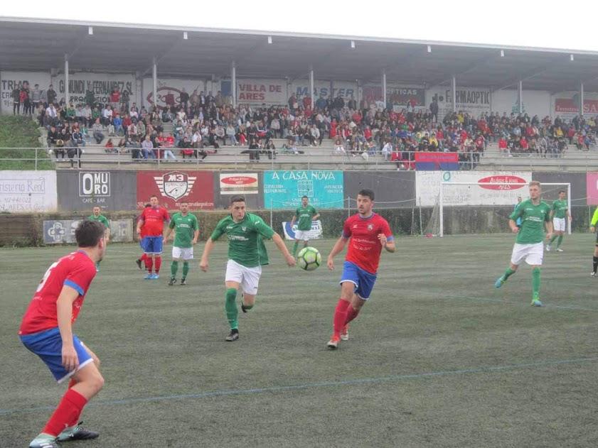 ADR Numancia de Ares. Semifinal Copa de Aficionados delegación de Ferrol 2018. Numancia de Ares, 0 - Galicia de Mugardos, 3. Prados Vellos Ares