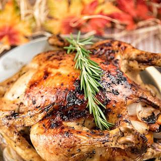 Rosemary-Honey Roast Chicken