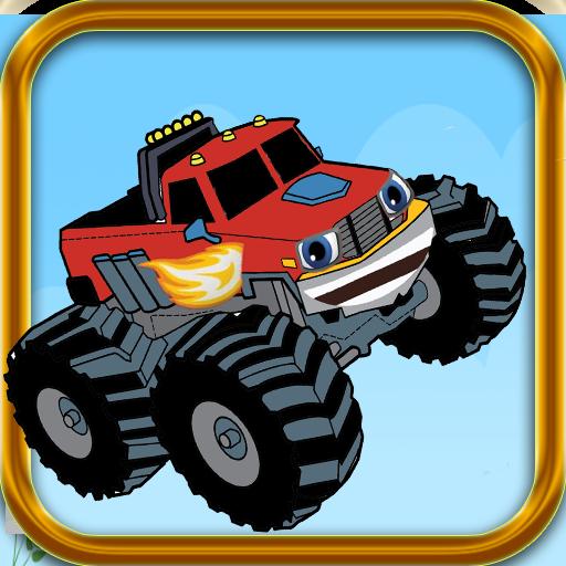 Blazing Monster Truck Machines